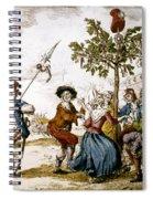 French Revolution, 1792 Spiral Notebook