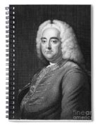 George Frederick Handel Spiral Notebook