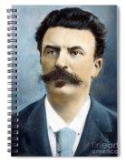 Guy De Maupassant Spiral Notebook
