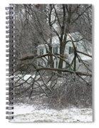 Ice Storm Spiral Notebook