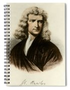 Isaac Newton, English Polymath Spiral Notebook