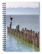 Lake Constance Spiral Notebook
