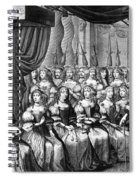 Louis Xiv (1638-1715) Spiral Notebook