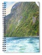 Milford Sound Spiral Notebook