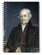 Noah Webster (1758-1843) Spiral Notebook