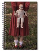 Old Doll Spiral Notebook