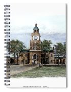 Philadelphia State House Spiral Notebook