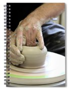 Pottery Wheel, Sequence Spiral Notebook