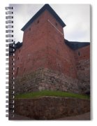 The Castle Of Tavastehus Spiral Notebook