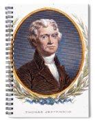 Thomas Jefferson (1743-1826): Spiral Notebook