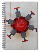 6 Valve Spiral Notebook
