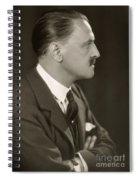 William Somerset Maugham Spiral Notebook