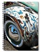 61 Volkswagon Bug Spiral Notebook