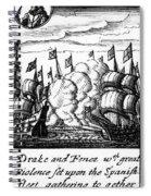 Spanish Armada, 1588 Spiral Notebook