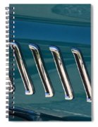 65 Plymouth Satellite Accent-8509 Spiral Notebook