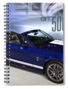 650 Horses On 4 Wheels Spiral Notebook