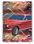 66 Fastback Spiral Notebook