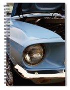 67 Mustang Hcs Spiral Notebook