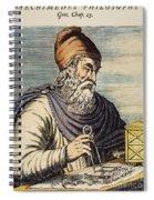 Archimedes (287?-212 B.c.) Spiral Notebook