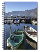 Ascona - Lake Maggiore Spiral Notebook