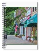 Downtown Perrysburg Spiral Notebook
