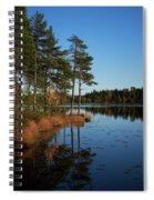 Fall At Saari-soljanen Spiral Notebook