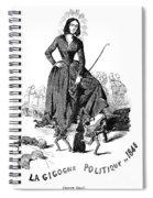 George Sand (1804-1876) Spiral Notebook