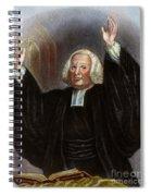 George Whitefield Spiral Notebook
