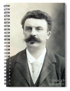 Guy De Maupassant Spiral Notebook