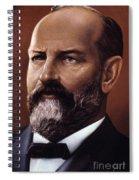 James A. Garfield (1831-1881) Spiral Notebook