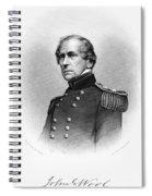 John Ellis Wool (1784-1869) Spiral Notebook