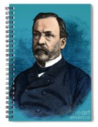 Louis Pasteur, French Chemist Spiral Notebook