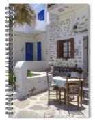 Paros - Cyclades - Greece Spiral Notebook