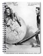 Presidential Campaign: 1864 Spiral Notebook