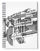 Screw-making Machine Spiral Notebook