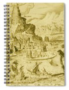 7 Wonders Of The World, Lighthouse Spiral Notebook