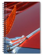 75 Caddy Emblem 7848 Spiral Notebook
