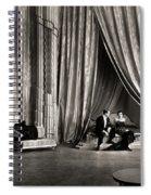 Silent Film Still: Couples Spiral Notebook