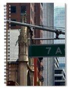 7th Avenue Spiral Notebook
