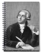 Antoine Laurent Lavoisier Spiral Notebook