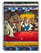 8 Ball And Beer Spiral Notebook