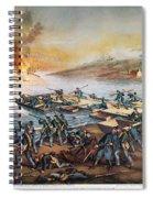Battle Of Fredericksburg Spiral Notebook