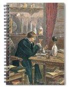 Benjamin Franklin, American Polymath Spiral Notebook