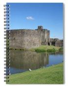 Caerphilly Castle Spiral Notebook