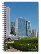 Chicago City Scenes Spiral Notebook