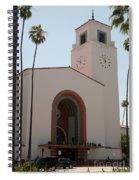 El Pueblo De Los Angeles Spiral Notebook