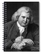 Erasmus Darwin, English Polymath Spiral Notebook