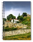 Kalemegdan Fortress In Belgrade Spiral Notebook