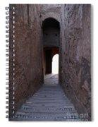 Marrakech In Morocco Spiral Notebook