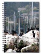 Monterey Harbour Spiral Notebook
